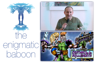 Videocast: Enigmatic Baboon 8 - Drawing like Rob Liefeld